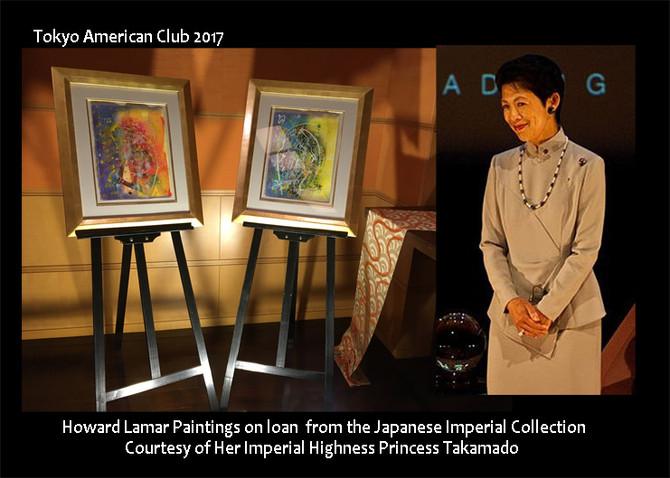 VIP Artist Reception at Tokyo American Club