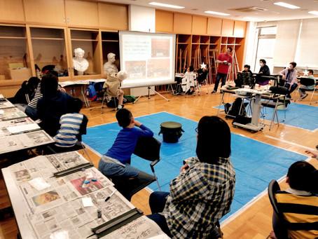 4/14大田文化の森でベーゴマ加工教室開催 〜20キロの距離を越えて、赤羽BC(ベーゴマクラブ)がやって来た!~