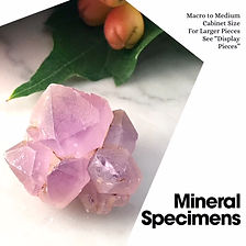 Mineral Specimens for Healing Crystal Energies