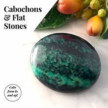 Cabochon for Silversmithing and Wire Wrapping