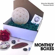 Cabochon Subscrition Box Crystal Healing Subscription Box Wire Wrapping Subscriptin Box