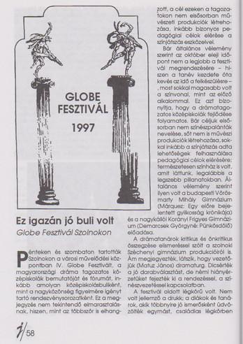 Globe Fesztivál 1997