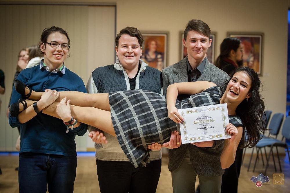 A tavalyi békéscsabai forduló győztesei