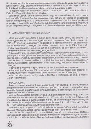 Tadeusz Kantor: A színház elemi iskolája - 3. rész