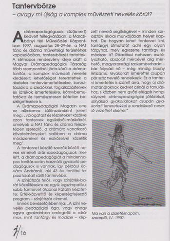 Tantervbörze - avagy mi újság a komplex művészeti nevelés körül?
