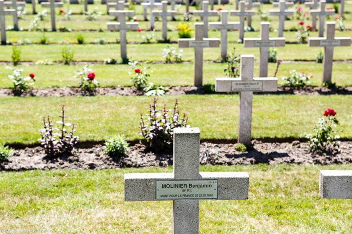 Katonai temető Westouter mellett