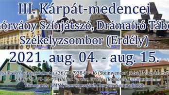 III. Kárpát-medencei Színjátszó és Drámaíró tábor - Felhívás!