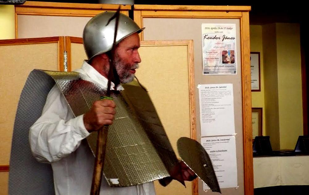 Gergye Rezső a Vasvári Játékszín előadásában