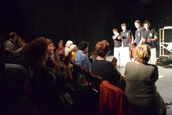 """""""A kis közösség ápolása maga az ünnep"""" - DESZínház 2018."""