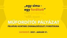 Drámafordítói pályázatot hirdet a DESZínház