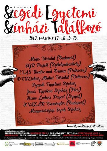 II. Szegedi Egyetemi Színházi Találkozó
