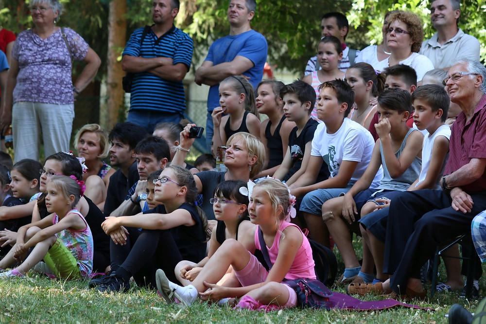 A figyelő közönség (fotó: Pörneczy Tamás)