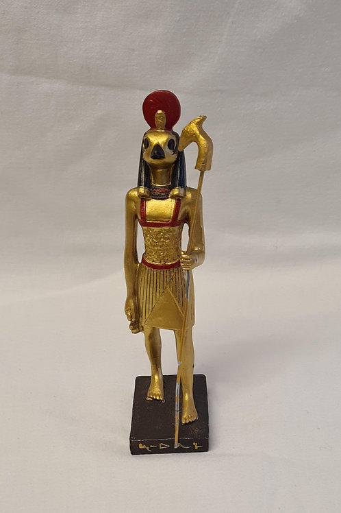 Golden Tutankhamen Holding Crook & Flail