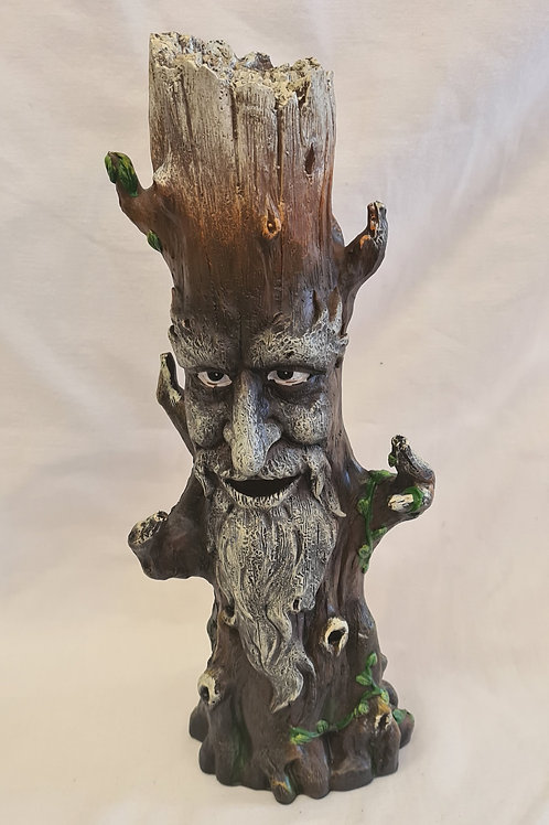 Green Man Incense Holder