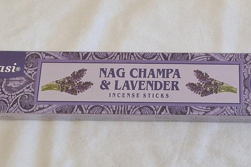 Incense Sticks Tulasi Nag Champa & Lavender