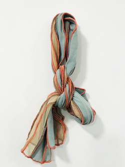 scarf on wall