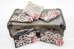 Leather purse collection