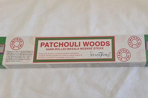 Incense Sticks Hand Rolled Masala Patchouli Woods