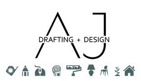 AJ Drafting + Design logo