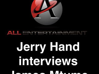 """James Mtume interview with Jerry Hand on """"All Entertainment Live"""""""