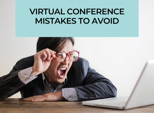 4 Things to Avoid When Planning Your Next Virtual Event