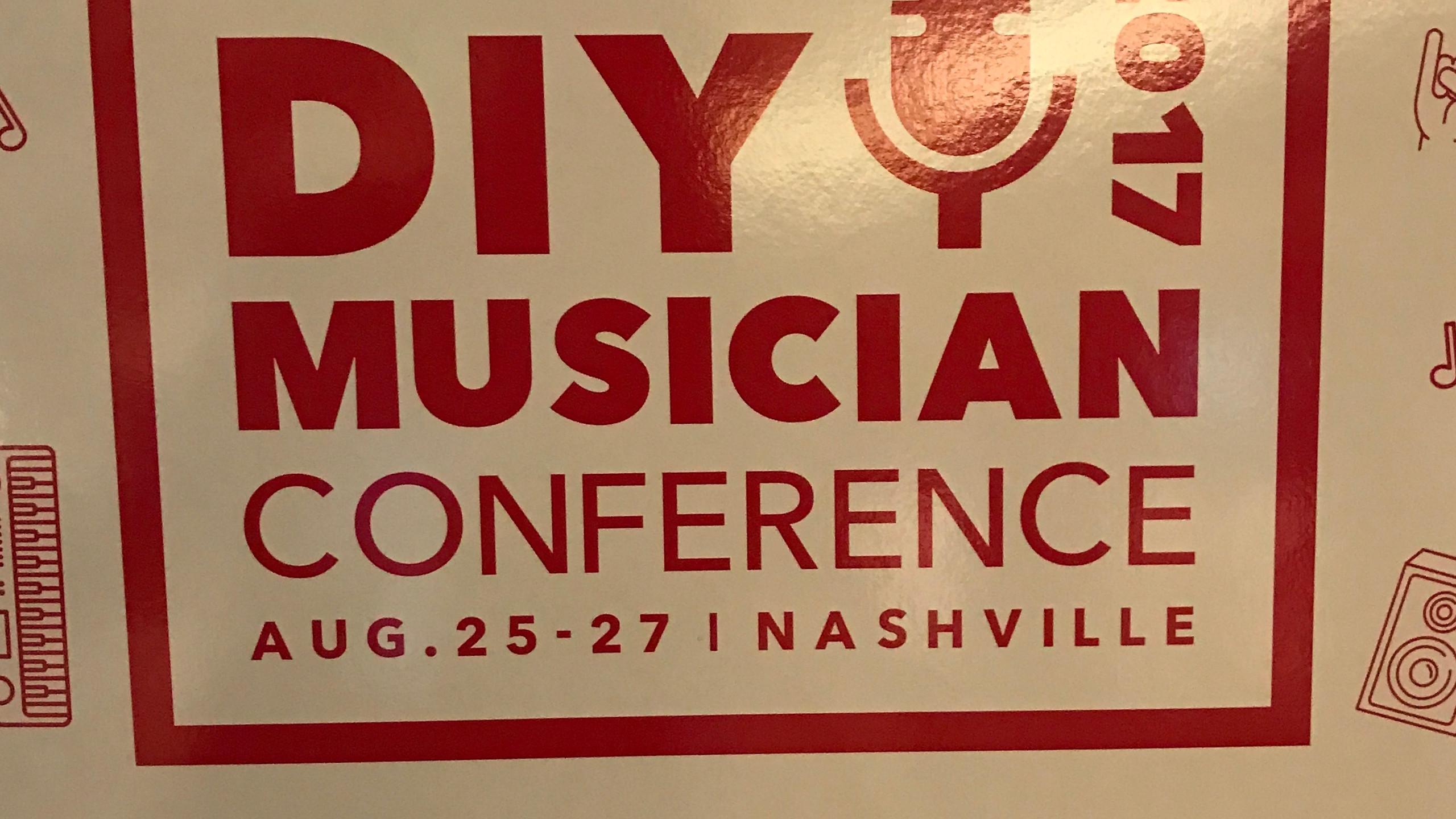 DIY Musician poster