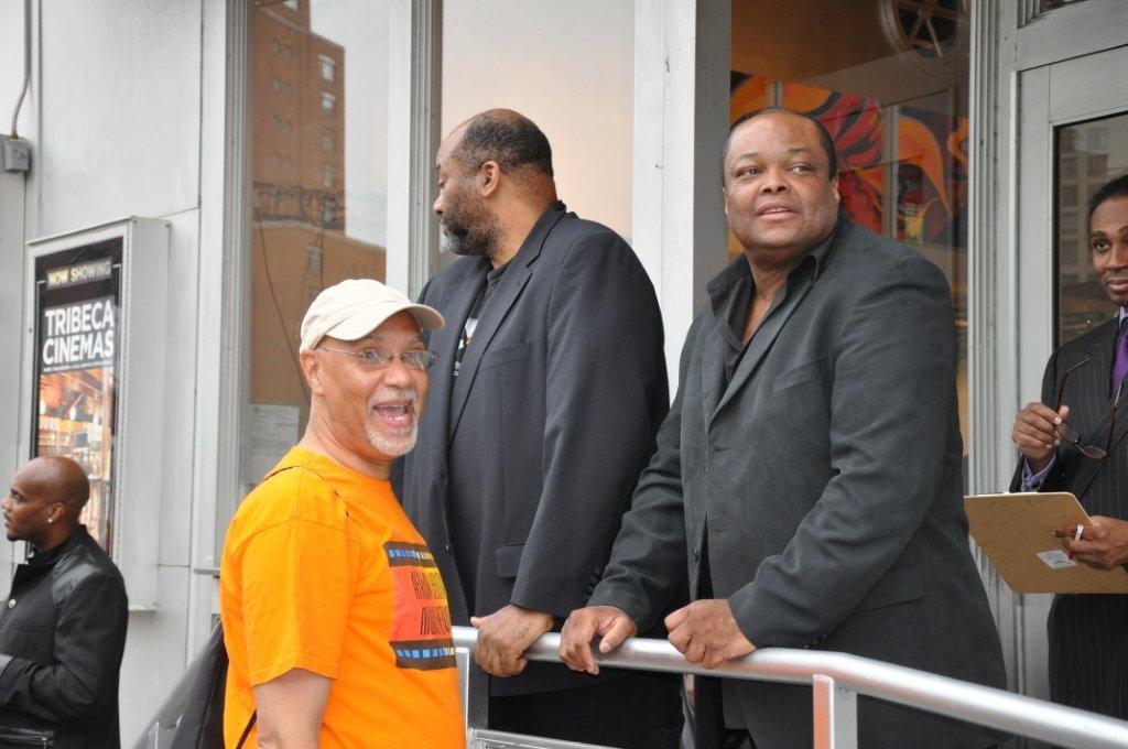 Filmmaker Warrington Hudlin, Producer Ralph White  ,Producer Director Frazier Prince