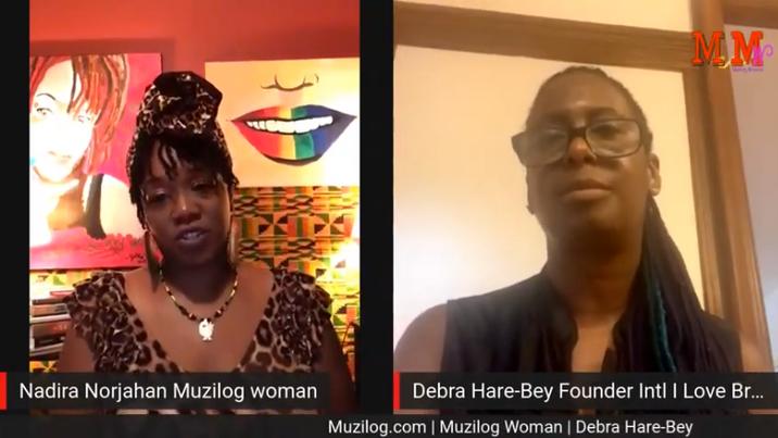 MUZILOG & MUZILOG WOMAN's Interview with Debra Hare-Bey