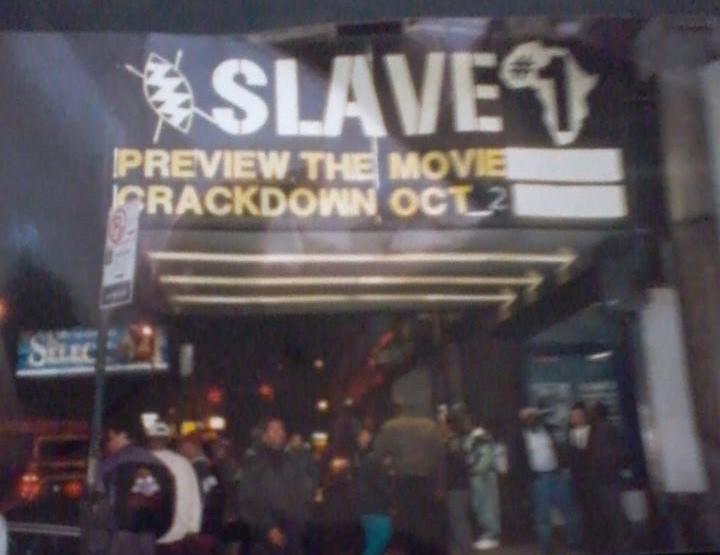 Crackdown Slave Theatre