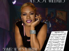 "Alyson Williams new release ""Summer Nights In Harlem"""