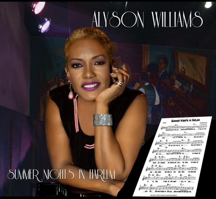 "Alyson Williams new release ""Summer Nights In Harlem"""