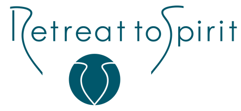 Retreat to Spirit_Logo_Teal_clipped_rev_