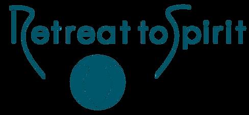 Retreat to Spirit_Logo_Teal_clipped_rev_