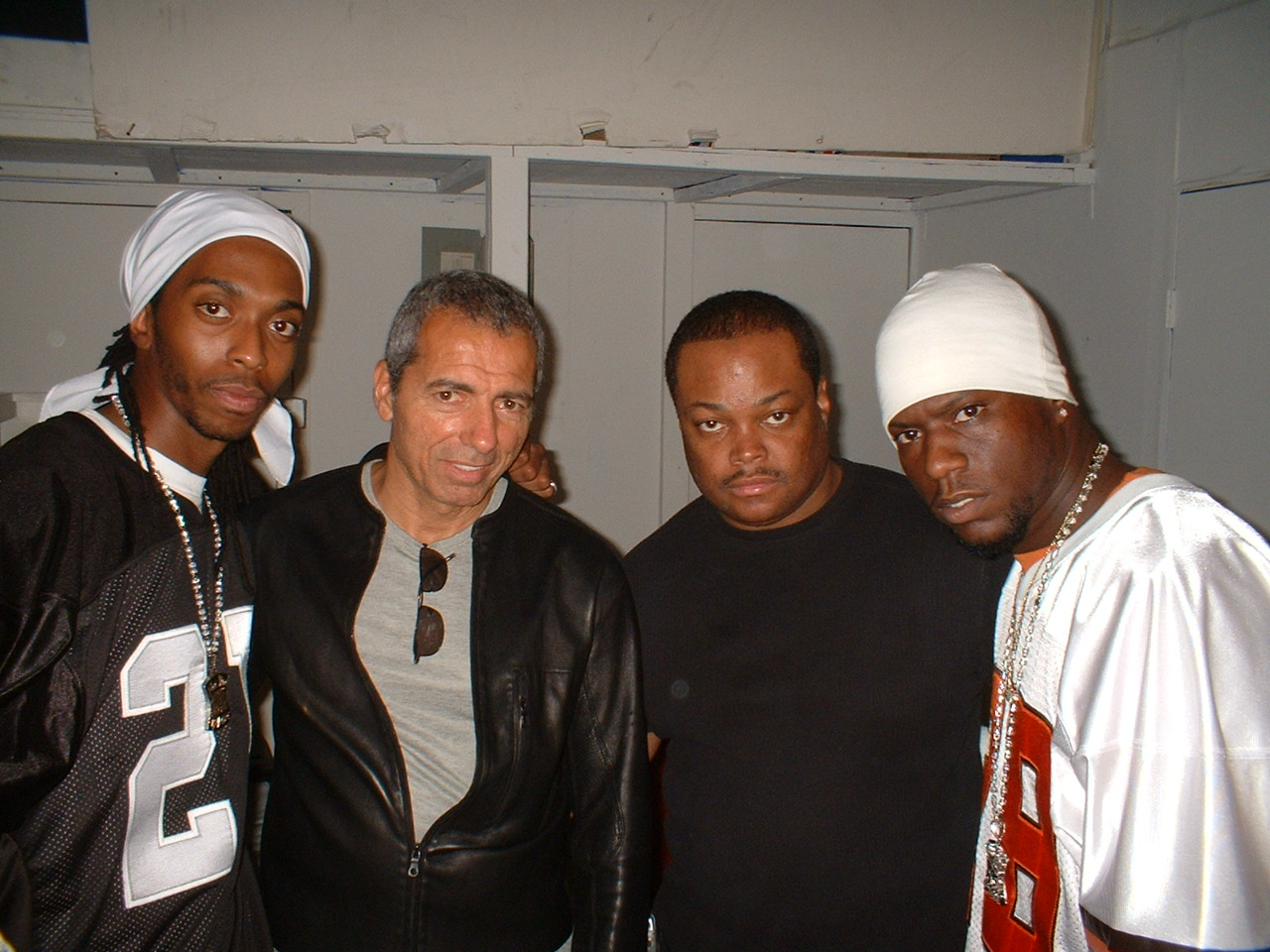 """Producer_Director_Frazier_Prince-Clothing_Designer_Frank_Marchese_&_2B_on_set_""""Uh_Oh""""_music_video_4"""