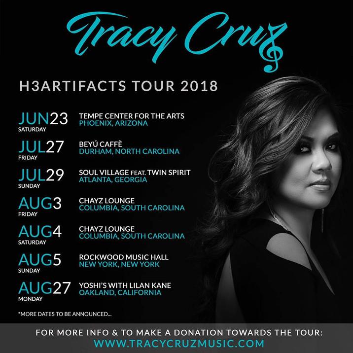 "Tracy Cruz Announces ""Heartifacts,"" Summer Tour Dates"