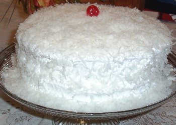 Coconut Cake [with Icing]
