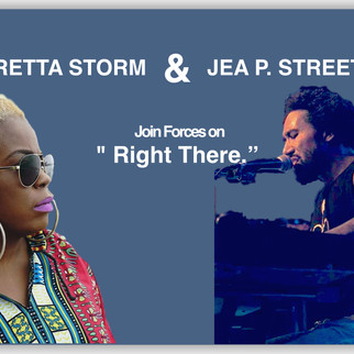 "Terretta Storm and Jea Street Jr. team up for ""Right There."""