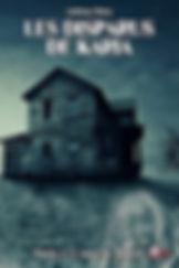 livre dark fantasy Les disparus de Karia par l'écrivain Holay Anthony
