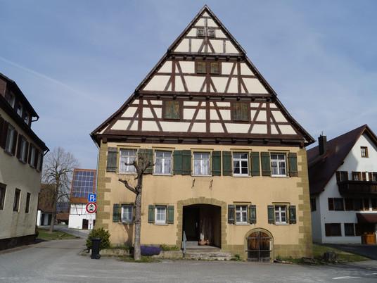 """""""Schultheißenhaus"""", Bühlertann"""