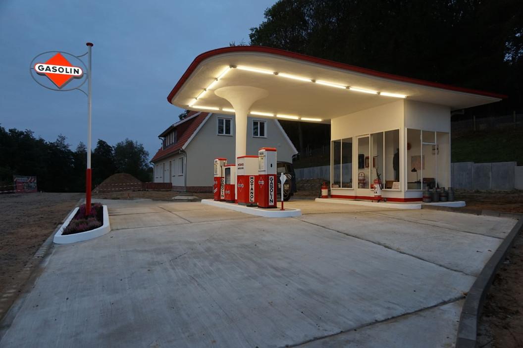 Tankstelle Stade