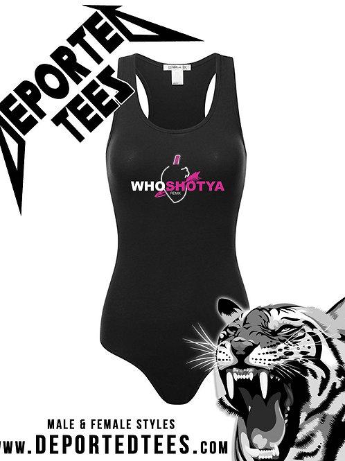 Who Shot Ya Female Body Suit