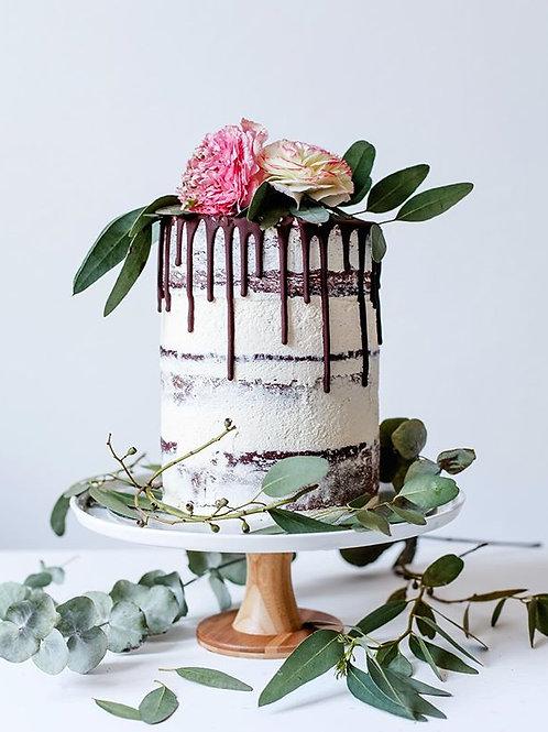 Torten Workshop-Drip Cake mit Trockenblumen oder echten Blumen 21.11.2020