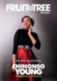 Fruit tree magazine interview with Chinonso Young