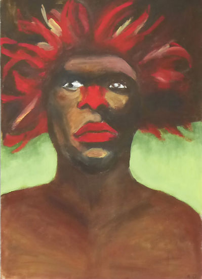Tribal - Acrylique
