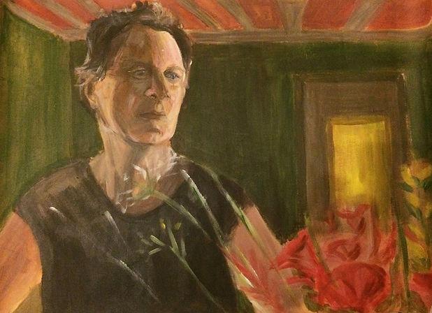 Portrait Homme Acrylique