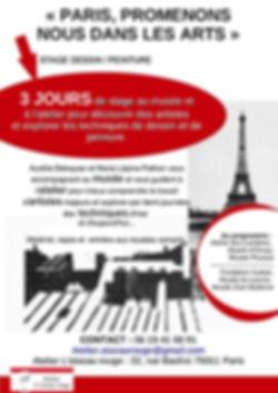 Stage Paris Promenons nous dans les arts