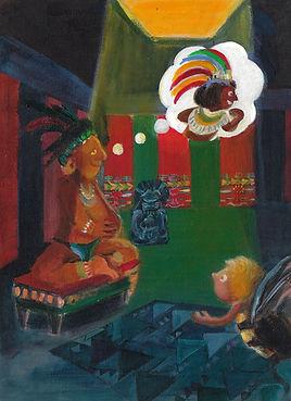 Illustration conte Maya