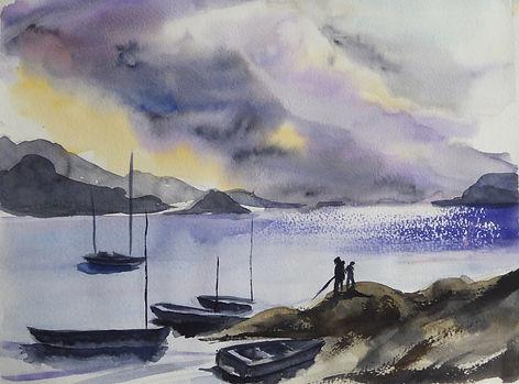 Bretagne aquarelle