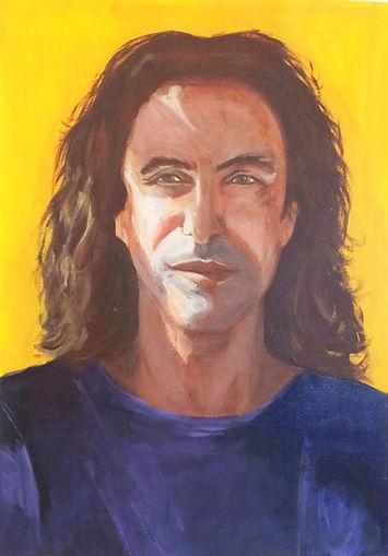 Portrait Homme - Acrylique