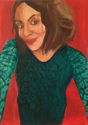 Portrait Femme- Acrylique
